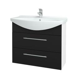 Dreja - Kúpeľňová skriňa TAKE IT SZZ2 85 - N01 Bílá lesk / Úchytka T02 / N08 Cosmo (207878B)