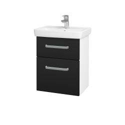 Dreja - Kúpeľňová skriňa GO SZZ2 50 - N01 Bílá lesk / Úchytka T01 / N08 Cosmo (204563A)