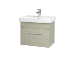 Dreja - Kúpeľňová skriňa SOLO SZZ 55 - M05 Béžová mat / Úchytka T01 / M05 Béžová mat (205492A)