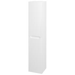 Dreja - Skriňa vysoká COLOR  SVD2 35 - N01 Bílá lesk / L01 Bílá vysoký lesk / Pravé (24553P)