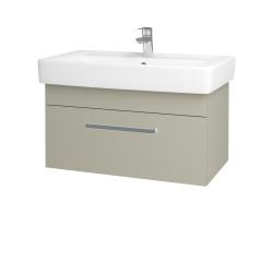 Dreja - Kúpeľňová skriňa Q UNO SZZ 80 - M05 Béžová mat / Úchytka T01 / M05 Béžová mat (208899A)