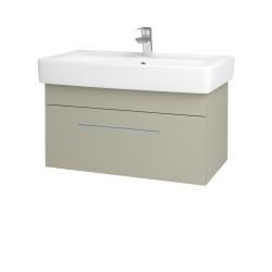 Dreja - Kúpeľňová skriňa Q UNO SZZ 80 - M05 Béžová mat / Úchytka T02 / M05 Béžová mat (208899B)
