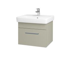 Dreja - Kúpeľňová skriňa Q UNO SZZ 55 - M05 Béžová mat / Úchytka T01 / M05 Béžová mat (208295A)