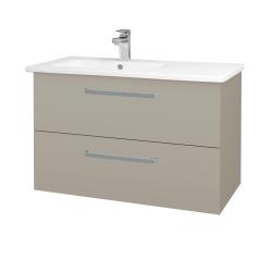 Dreja - Kúpeľňová skriňa GIO SZZ2 90 - M05 Béžová mat / Úchytka T01 / M05 Béžová mat (202477A)