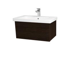 Dreja - Kúpeľňová skriňa INVENCE SZZ 65 (umývadlo Harmonia) - D08 Wenge / D08 Wenge (176129)