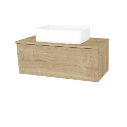 Dreja - Kúpeľňová skriňa INVENCE SZZ 80 (umývadlo Joy) - D09 Arlington / D09 Arlington (179397)