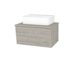 Dreja - Kúpeľňová skriňa INVENCE SZZ 65 (umývadlo Joy 3) - D05 Oregon / D05 Oregon (177843)
