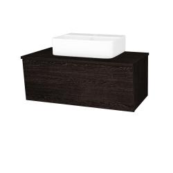 Dreja - Kúpeľňová skriňa INVENCE SZZ 80 (umývadlo Joy 3) - D08 Wenge / D08 Wenge (180928)