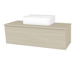 Dreja - Kúpeľňová skriňa INVENCE SZZ 100 (umývadlo Joy 3) - D04 Dub / D04 Dub (183219)