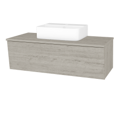 Dreja - Kúpeľňová skriňa INVENCE SZZ 100 (umývadlo Joy 3) - D05 Oregon / D05 Oregon (183226)