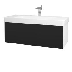 Dreja - Kúpeľňová skriňa VARIANTE SZZ 105 - N01 Bílá lesk / N08 Cosmo (195717)