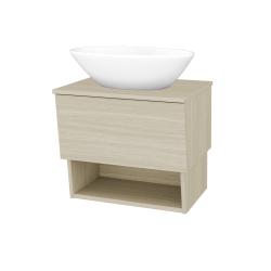Dreja - Kúpeľňová skriňa INVENCE SZZO 65 (umývadlo Triumph) - D04 Dub / D04 Dub (178123)