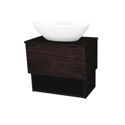 Dreja - Kúpeľňová skriňa INVENCE SZZO 65 (umývadlo Triumph) - D08 Wenge / D08 Wenge (178154)