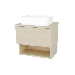 Dreja - Kúpeľňová skriňa INVENCE SZZO 65 (umývadlo Joy) - D02 Bříza / D02 Bříza (176365)