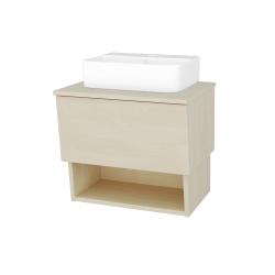Dreja - Kúpeľňová skriňa INVENCE SZZO 65 (umývadlo Joy 3) - D02 Bříza / D02 Bříza (177522)