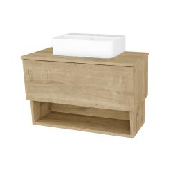 Dreja - Kúpeľňová skriňa INVENCE SZZO 80 (umývadlo Joy 3) - D09 Arlington / D09 Arlington (180645)