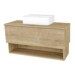 Dreja - Kúpeľňová skriňa INVENCE SZZO 100 (umývadlo Joy 3) - D09 Arlington / D09 Arlington (182960)