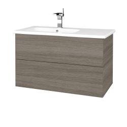 Dreja - Kúpeľňová skriňa VARIANTE SZZ2 90 (umývadlo Euphoria) - D03 Cafe / D03 Cafe (189075)