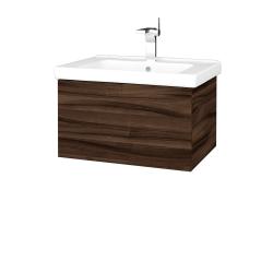 Dreja - Kúpeľňová skriňa VARIANTE SZZ 65 (umývadlo Harmonia) - D06 Ořech / D06 Ořech (190804)