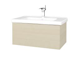 Dreja - Kúpeľňová skriňa VARIANTE SZZ 80 (umývadlo Harmonia) - D02 Bříza / D02 Bříza (191665)