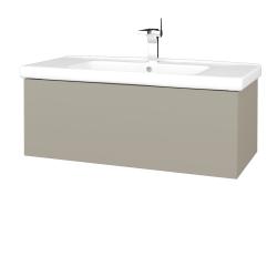 Dreja - Kúpeľňová skriňa VARIANTE SZZ 100 (umývadlo Harmonia) - L04 Béžová vysoký lesk / L04 Béžová vysoký lesk (192693)