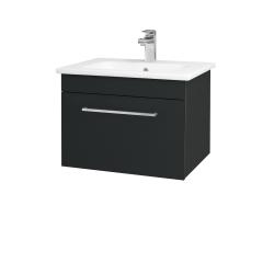 Dreja - Kúpeľňová skriňa ASTON SZZ 60 - L03 Antracit vysoký lesk / Úchytka T04 / L03 Antracit vysoký lesk (108694E)