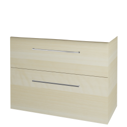 Dreja - Kúpeľňová skriňa BIG INN SZZ2 100 - D02 Bříza / Úchytka T04 / D02 Bříza (133115E)