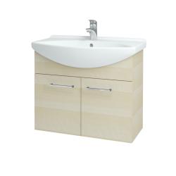 Dreja - Kúpeľňová skriňa TAKE IT SZD2 75 - D02 Bříza / Úchytka T04 / D02 Bříza (133313E)