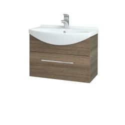 Dreja - Kúpeľňová skriňa TAKE IT SZZ 65 - D03 Cafe / Úchytka T04 / D03 Cafe (133702E)