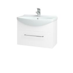 Dreja - Kúpeľňová skriňa TAKE IT SZZ 65 - N01 Bílá lesk / Úchytka T04 / N01 Bílá lesk (134389E)