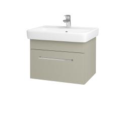 Dreja - Kúpeľňová skriňa Q UNO SZZ 60 - L04 Béžová vysoký lesk / Úchytka T04 / L04 Béžová vysoký lesk (150655E)