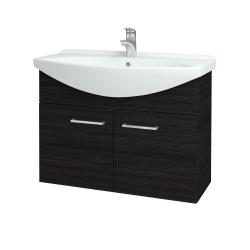 Dreja - Kúpeľňová skriňa TAKE IT SZD2 85 - D14 Basalt / Úchytka T04 / D14 Basalt (151188E)