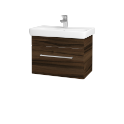 Dreja - Kúpeľňová skriňa SOLO SZZ 60 - D06 Ořech / Úchytka T04 / D06 Ořech (22146E)