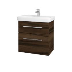 Dreja - Kúpeľňová skriňa GO SZZ2 60 - D06 Ořech / Úchytka T04 / D06 Ořech (29787E)