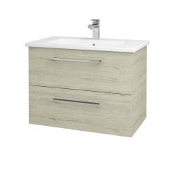 Dreja - Kúpeľňová skriňa GIO SZZ2 80 - D05 Oregon / Úchytka T04 / D05 Oregon (82065E)
