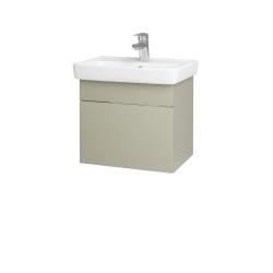 Dreja - Kúpeľňová skriňa SOLO SZZ 50 - L04 Béžová vysoký lesk / Úchytka T05 / L04 Béžová vysoký lesk (150099F)