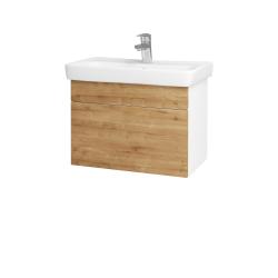 Dreja - Kúpeľňová skriňa SOLO SZZ 60 - N01 Bílá lesk / Úchytka T05 / D09 Arlington (150266F)