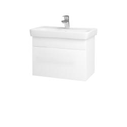 Dreja - Kúpeľňová skriňa SOLO SZZ 60 - N01 Bílá lesk / Úchytka T05 / M01 Bílá mat (205744F)