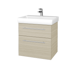 Dreja - Kúpeľňová skrinka PROJECT SZZ2 60 - D04 Dub / Úchytka T02 / D04 Dub (322410B)