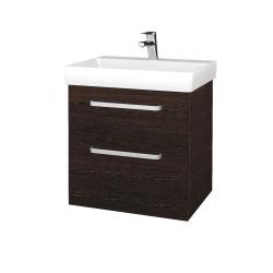 Dreja - Kúpeľňová skrinka PROJECT SZZ2 60 - D08 Wenge / Úchytka T01 / D08 Wenge (322441A)