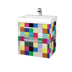 Dreja - Kúpeľňová skrinka PROJECT SZZ2 60 - IND Individual / Úchytka T01 / IND Individual (322526A)