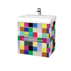 Dreja - Kúpeľňová skrinka PROJECT SZZ2 60 - IND Individual / Úchytka T02 / IND Individual (322526B)