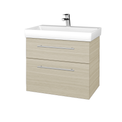 Dreja - Kúpeľňová skrinka PROJECT SZZ2 70 - D04 Dub / Úchytka T02 / D04 Dub (322878B)