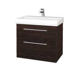 Dreja - Kúpeľňová skrinka PROJECT SZZ2 70 - D08 Wenge / Úchytka T02 / D08 Wenge (322908B)