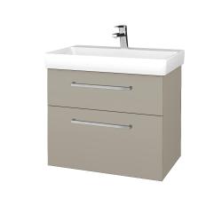 Dreja - Kúpeľňová skrinka PROJECT SZZ2 70 - M05 Béžová mat / Úchytka T04 / M05 Béžová mat (322977E)