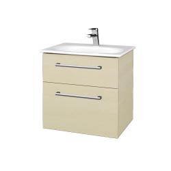 Dreja - Kúpeľňová skrinka PROJECT SZZ2 60 - D02 Bříza / Úchytka T03 / D02 Bříza (328207C)