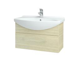 Dreja - Kúpeľňová skriňa TAKE IT SZZ 75 - D04 Dub / Úchytka T05 / D04 Dub (133856F)