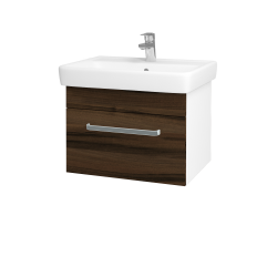 Dreja - Kúpeľňová skriňa Q UNO SZZ 60 - N01 Bílá lesk / Úchytka T01 / D20 Galaxy (279707A)