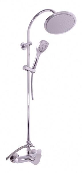SLEZAK-RAV - Vodovodné batérie sprchová AMUR s hlavovou a ručnou sprchou, Farba: chróm, Rozmer: 150 mm AM781.5 / 3