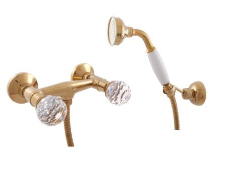 SLEZAK-RAV - Vodovodní baterie sprchová , Barva: zlato, Rozměr: 150 mm (BRILLIANCE180.5/2Z)